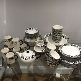 Poole Pottery Tableware Body Art Collection