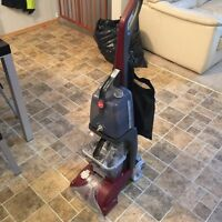 Hoover power scrub carpet cleaner ! Tough times price drop $80