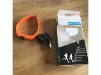 Smart bracelet health sport orange