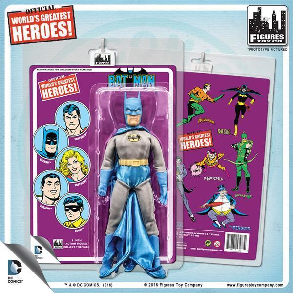 Batman 1966 TV Series Action Figures Carry Case-New