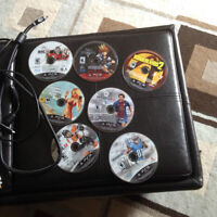 PS3, 7 Games and Controller