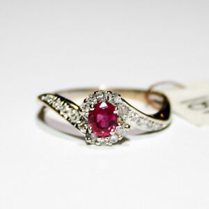 Ruby Diamond Ring 18k Gold $595 Great Pacific Pawnbrokers