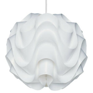new modern le klint 172 pendant light white plastic shade