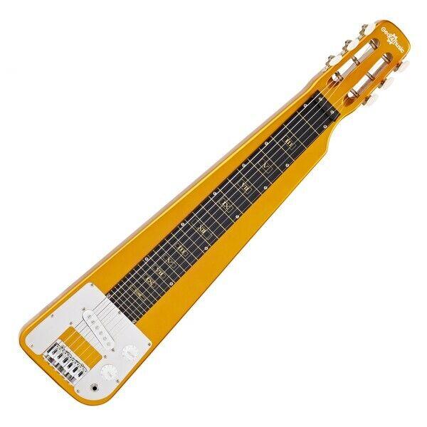 Lap Steel Guitar by Gear4music Gold