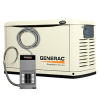 11kW Generac Generator (Unit + Automatic Transfer Switch)