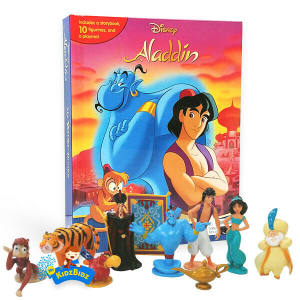 Trolls Lion King Masha Blaze Frozen 2 Moana My Busy Book Collection #4