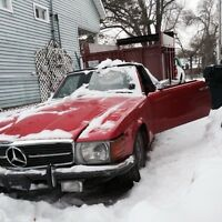Mercedes 450 1974 for parts