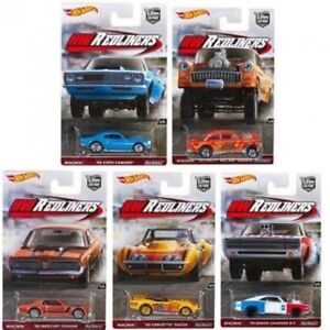 Hot Wheels HW Redliners Car Culture Cars 1:64 Scale