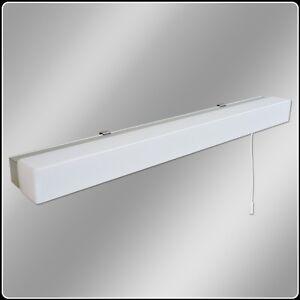led bathroom mirror light eterna omled10 low energy led over mirror light ebay. Black Bedroom Furniture Sets. Home Design Ideas