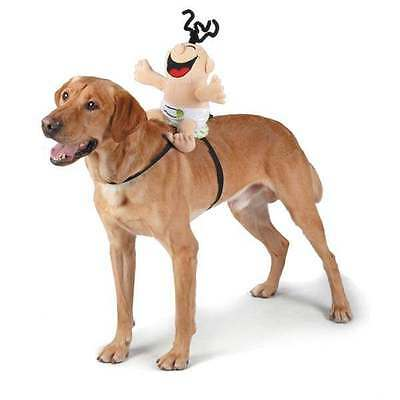Zack & Zoey Giggling Baby Saddle Harness Dog Costume Soundchip D-Ring Adjustable - Baby Dog Costumes