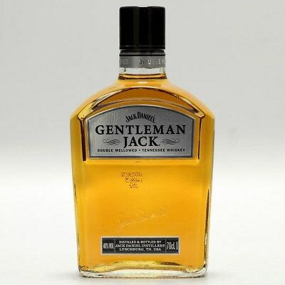 Gentleman Jack von Jack Daniels 0,7 Ltr. 40%vol  Rare Tennessee Whiskey