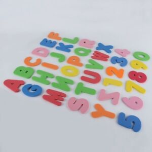 36in1 A-Z Letters & 0-9 Numbers Foam Floating Bath Tub Stick Tod