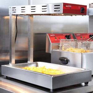 Avantco Infrared Fry Food Warmer Deep Fryer Dump Station Heat Lamp Commercial