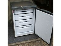 HOT POINT GREY FUTURE FREE STANDING UNDER COUNTER FREEZER MODEL No : RZA 36 G