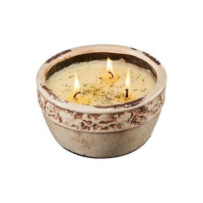 Swan Creek 17 Ounce Soy Wax Candle With 50 Hour Burn Time (Warm Cinnamon Bun)