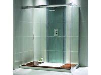 AQUALUX Walk-through Shower Tray