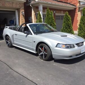 2002 Ford Mustang Gt convertible with mods