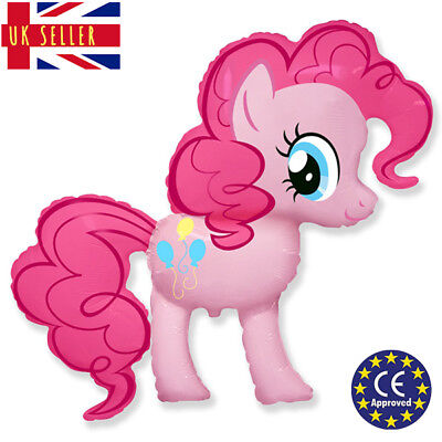 GIANT My Little Pony Pinkie Pie Balloon CE Approved XL Birthday Foil Air Helium - My Little Pony Helium Balloon