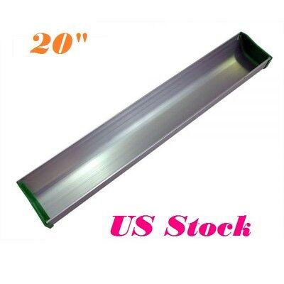 20 Dual Edge Emulsion Scoop Coater Aluminum Coating Tool For Screen Printing