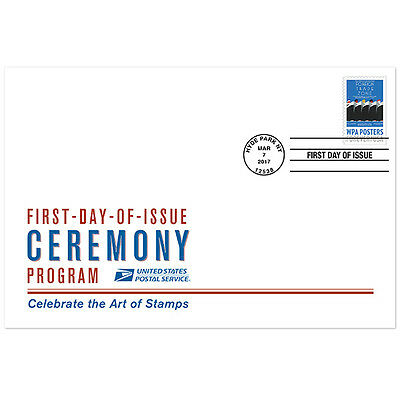 USPS New WPA Posters Ceremony Program