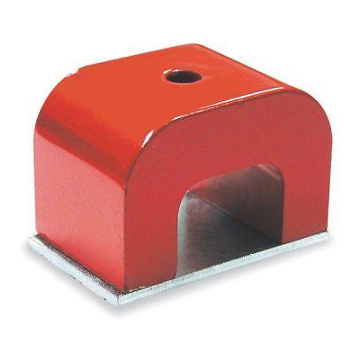 6Xy57 Alnico 5 Horseshoe Magnet  22 Lb  Pull