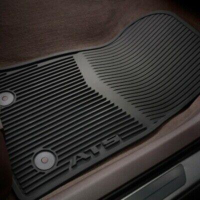 2013-2019 Cadillac ATS Jet Black 4 pc All-Weather Floor Mat Set OEM# 22759927