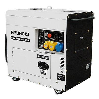 7.2 kVA Hyundai Long Run Diesel Generator