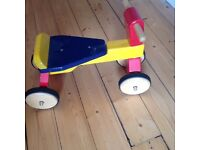 Pintoy Toddler Trike: VGC. Solid Wood
