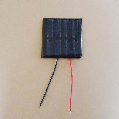 2V Mini Solar Panel 120mA  with wire  2 pcs
