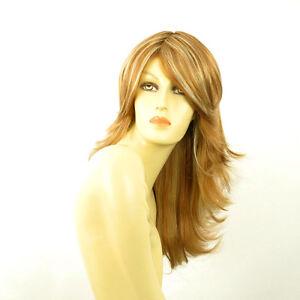 perruque femme longue blond fonc m ch blond clair gina f27613 ebay. Black Bedroom Furniture Sets. Home Design Ideas