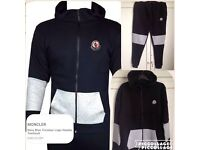 Moncler tracksuit not polo armani versace