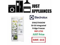 Brand New Integrated Fridge and Freezer with Warranty