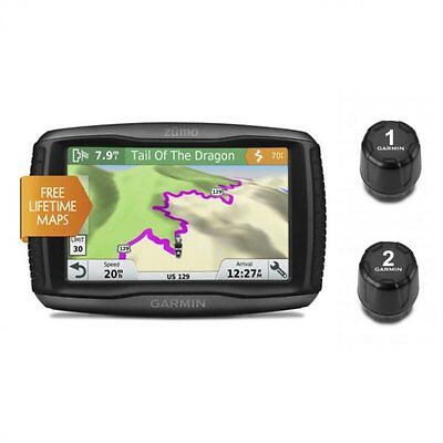 Garmin Zumo 595LM Motorcycle GPS Navigator with Accessory Bu