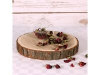 Large 31cm Wood Slices (26) for Weddings/Partys/Table Decorations