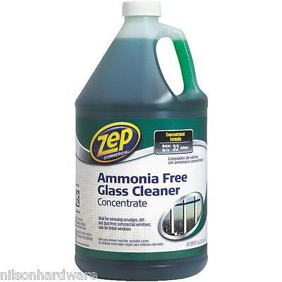 8 Gal Zep Commercial Concentrated Ammonia-Free Glass Cleaner -
