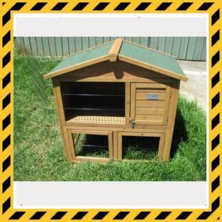 Rabbit Hutch Package Deal - All your pet bunny will need Osborne Port Adelaide Area Preview