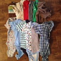6-12 M Boy Lot - Almost 80 Items!!!