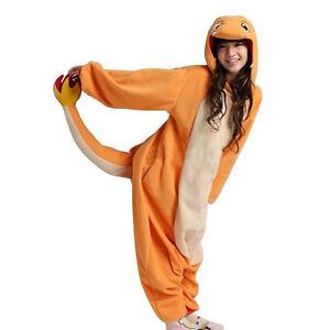 Unisex Adult Animal Onesie Onesies Anime Cosplay Pyjamas Kigurumi Fancy Dress UK