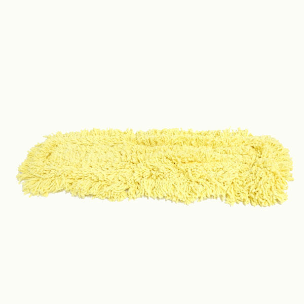 Rubbermaid J15200YL00 Trapper Dust Mop, Yellow, Size 18