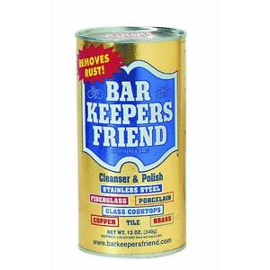 Bar keepers friend for stainless steel