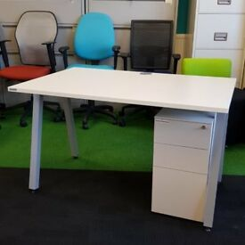 Cheap White Desks Sawbridgeworth