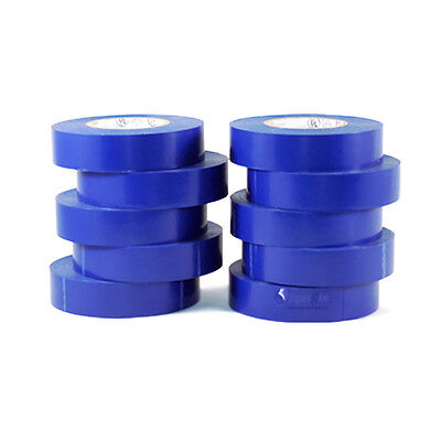 Tapessupply 10 Rolls Pack Blue Electrical Tape 34 X 66 Ft