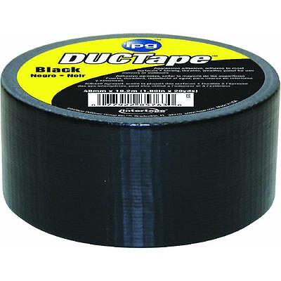 20yds Duct Tape Black Intertape Polymer 6720blk Watertear Resistant 36 Roll Pk