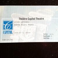 Zappa plays Zappa @ The Capitol Theatre