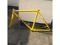 Used giant bike frame aluminium 56cm