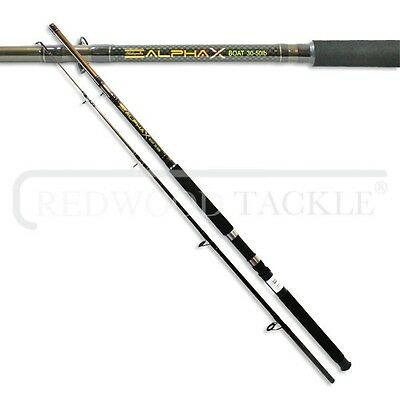 Shakespeare Alpha X Boat/Sea Fishing Rod  30-50LB Class 7 ft
