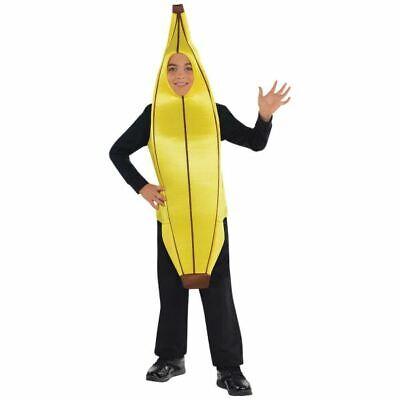 Boys girls Banana Costume Kids School Book Week Fancy Dress outfit Story - Boys Banana Costume