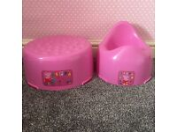Peppa Pig Mothercare Potty & Toilet Step Washington NE38