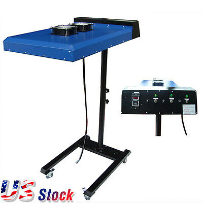 Us Stock 220v 6000w 20 X 24 Automatic Ir Flash Dryer With Sensor For Screen