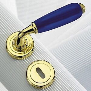 Maniglie porte interne ottone lucido vetro sicma murano ebay - Maniglie porte ottone ...